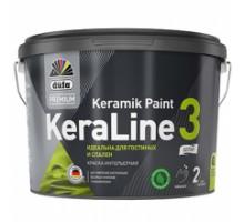 """DufaPremium"" ВД краска KeraLine 3  база1  9л"